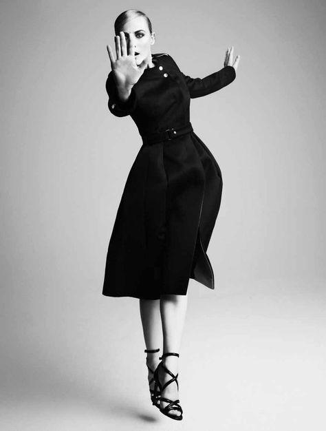 Vogue Germany 2014 07 10 Vogue Alemanha Julho 2014 | Diane Kruger por Camilla Akrans [Editorial]