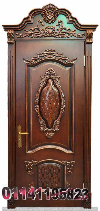ابواب خشب Wooden Front Door Design Door Design Wood Door Design