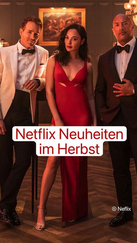 Netflix Neuheiten  im Herbst: Bis Ende 2021 gibt es mindestens einen neuen Film pro Woche