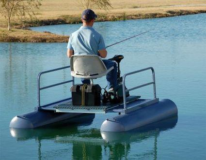Brand New 6 Ft One Person Mini Pontoon Fishing Boat Boat Plans Pontoon Boat Fishing Pontoon