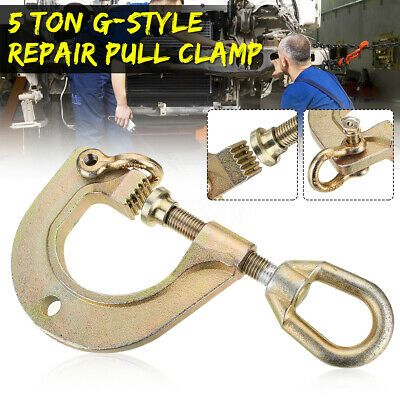Ebay Advertisement G Style 2 Way 5 Ton Pull Clamp Back Self Tightening Auto Body Repair Tools Auto Body Repair Auto Body Auto Repair