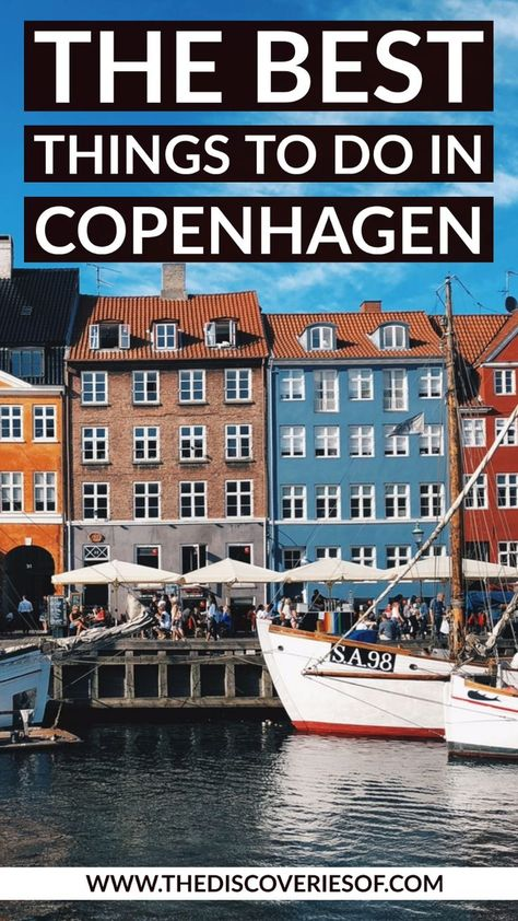 Cool things to do in Copenhagen, Denmark. Let's go! #copenhagen #travel #traveldestinations #europe
