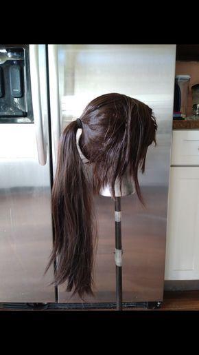Shadow Of The Tomb Raider Lara Croft Wig From Vanity And Revolt Tomb Raider Lara Croft Really Long Hair Tomb Raider