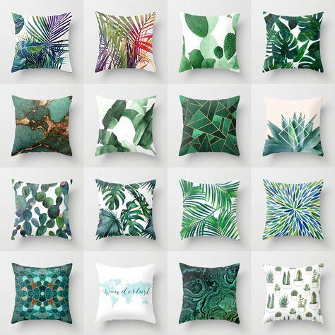 Cuscini Verdi.Pin Su Tessuti