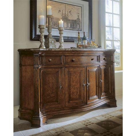 Universal Furniture 409678 C Villa Cortina Storage Credenza