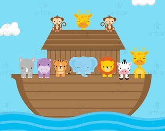 25+ Boat Of Animals Clipart