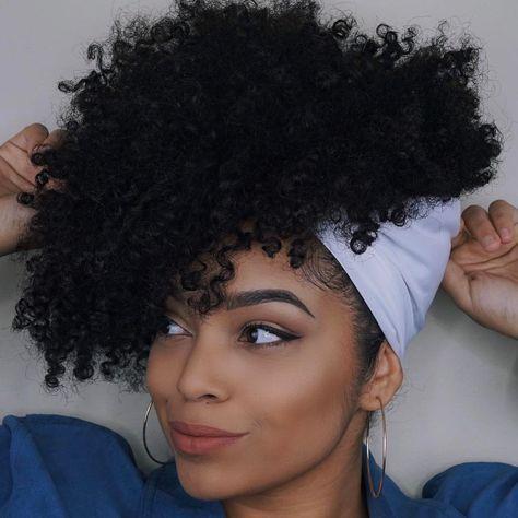 100 Idees De Coiffure Pour Cheveux Crepus Tissuwax Com Coiffure Avec Foulard Coiffure Idees De Coiffures