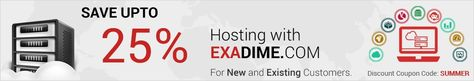 Exadime is a New Jersey; USA based hosting service provider delivering reliable, secure and cost effective VMWare hosting solutions for businesses of all sizes. Our mission is to provide enterprise-class hosting of VMWare vSphere at an affordable price to VMWare community.