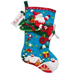 Christmas Stockings Kits.Bucilla Felt Christmas Stocking Kits Grandchildren Ideas