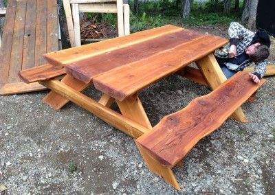 Live Edge Picnic Table Pds Woodwork Picnic Table Rentals And Custom Woodwork Picnic Table Custom Woodworking Woodworking