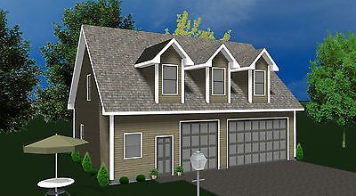 Garage Kit Shell Prefab With Living Quarters Home