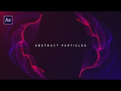 Dynamic Particles Animation in After Effects - Complete After Effects Tutorial - (Trapcode Plugin)