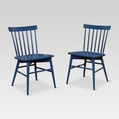 View Windsor Dining Chair Set Of 2 Threshold On Target Com