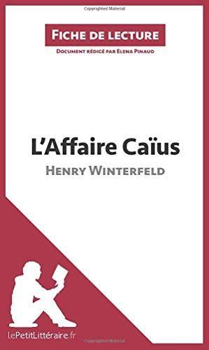 LAFFAIRE CAIUS TÉLÉCHARGER