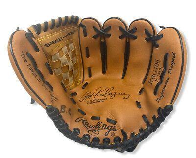 Rawlings Rbg108 10 Youth Baseball Glove Right Hand Throw Fastback Alex Arod Ebay In 2020 Youth Baseball Gloves Baseball Glove Youth Baseball