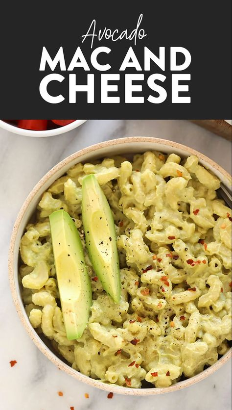 With just 8 ingredients and 30 minutes, you can have yourself a delicious vegan dinner ready for the family. Try our avocado mac and cheese recipe today!