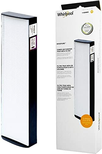 Enjoy Exclusive For Whirlpool 1183800 Genuine True Hepa Filter Replacement Fit Air Purifier Portable Tower Wpt80 Large Online In 2020 Mirror Set Hepa Filter Wall Air Conditioner