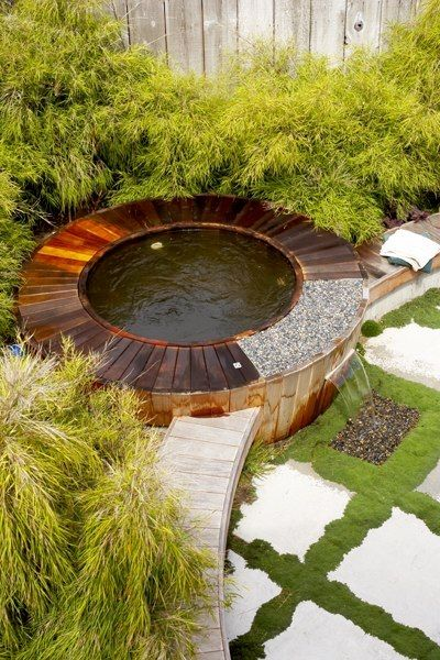 Bathing Space at Japanese Cottage in Los Osos, CA by JGS Designs via houzz