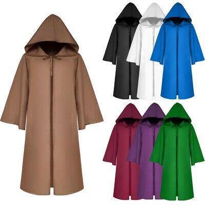 New Handmade Renaissance Child/'s Hooded Cape//Cloak Size Large Various Colors