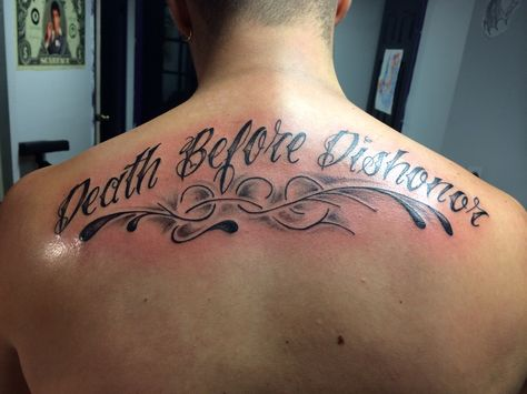 Pin By Marsha Gatte On Tattoo Dishonored Tattoo Neck Tattoo Death Before Dishonor Tattoo