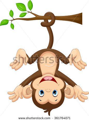 Monkey upside down. Pin by kari scheetz