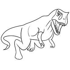Theropod Coloring Images Dinozaury