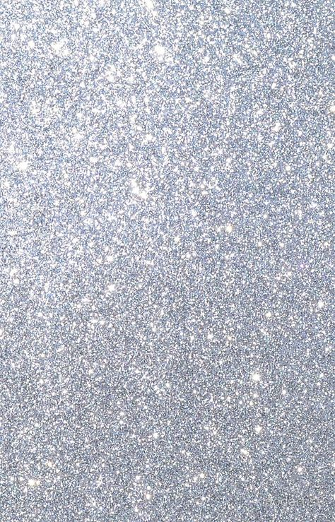 'Silver Metallic Sparkly Glitter ' iPhone Case by podartist