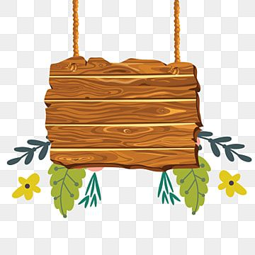 Wooden Hanging With Tropical Sign Clipart Wood Wood Decoration Png And Vector With Transparent Background For Free Download Spring Flowers Background Green Leaf Background Vector Illustration