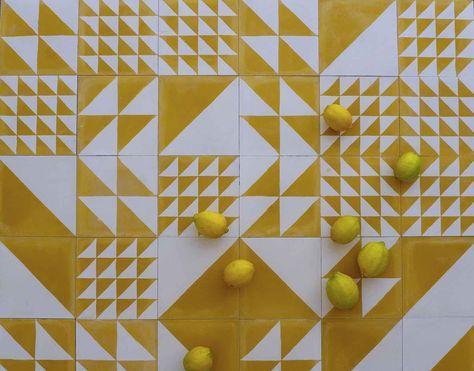 popham design  cement tiles  handmade in morocco tiles