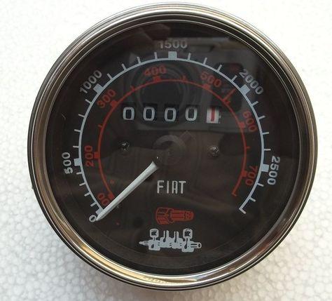 Fiat Tachometer 450 480 480 8 550 500 540 600 640 900 1000 Tractor Fiat Tractors Tachometer