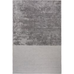 Benuta Premium Viskose Teppich Puro Grau 200x300 Cm Moderner