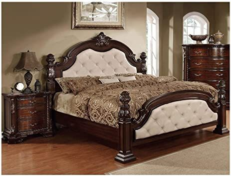 Enjoy Sweet Dreams Every Night In Our Camelot Hand Carved 4 Poster Regal Queen Size Bed Queen Size Bedding Solid Wood Furniture Furniture