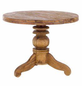 Massiv Holz Tisch Teak Rund 100cm Oder 150 Cm Teak Tisch Und Holz