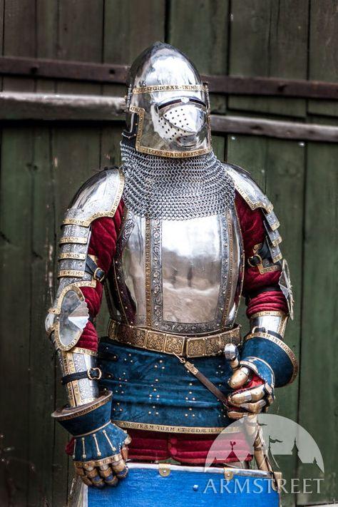 Medieval Western Knight's Armor Kit