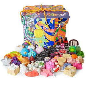 Wellness Lush Cosmetics Wow Box 380 Lush Gift Kids Bubble Bath Lush Bath Bombs