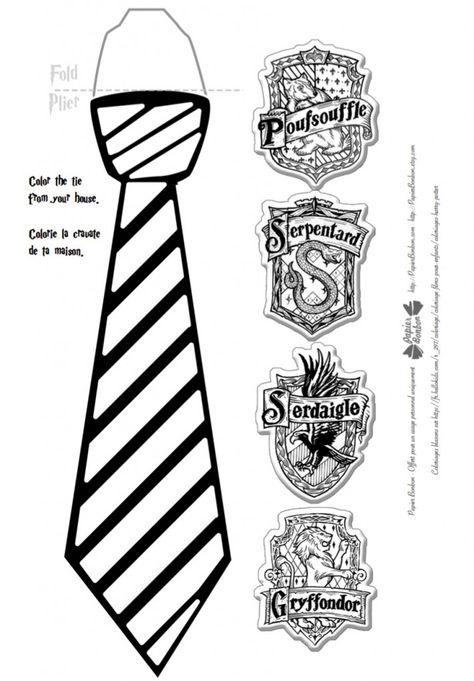 Anniversaire Harry Potter, décorations imprimables, idées de jeux, activités