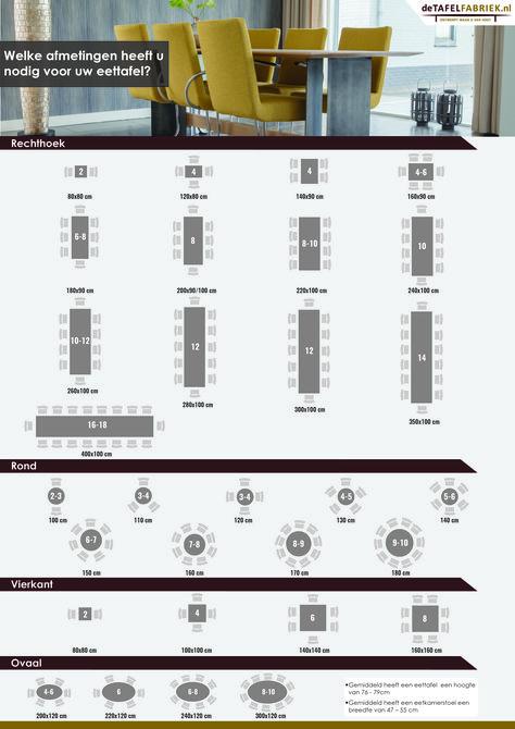 Vierkante Eettafel 12 Personen.Afmetingen Eettafel 6 Personen In 2019 Eettafel Vierkante