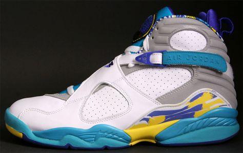 In Context  The Women s  Aqua  Air Jordan 8 Retro  b05ece65de
