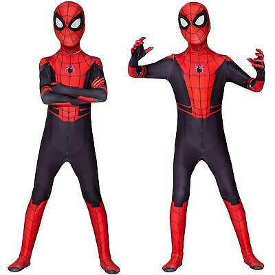 Adult Spiderman Super Hero Halloween Costume Spider Man Outfit Fancy Dress Party