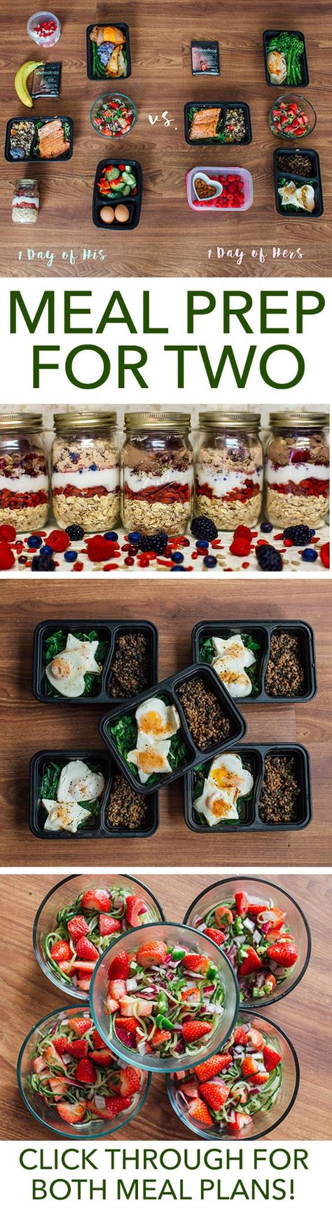 Meal prep is more fun when you have a partner in the kitchen. Make this week extra special with this meal prep plan for two. // meal prep mondays // meal planning // healthy foods // couples // relationships // valentine's day // beachbody | BeachbodyBlog.com