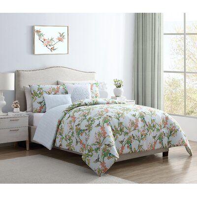 Charlton Home Galilee Home Springs Reversible Comforter Set Size