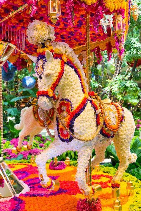 Floral Carousel at Wynn Las Vegas