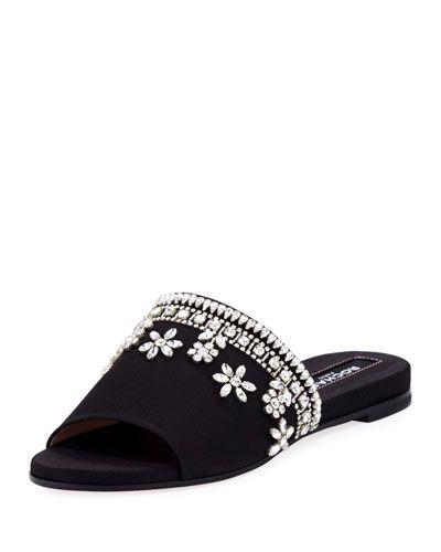 Rochas Rhinestone embellished sandals tgZCW