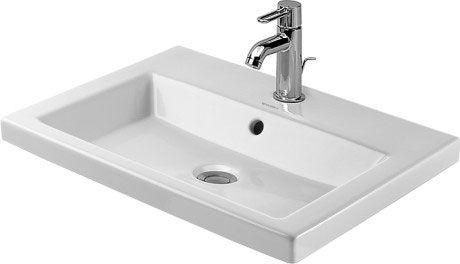 2nd Floor Einbauwaschtisch 034760 Duravit In 2019