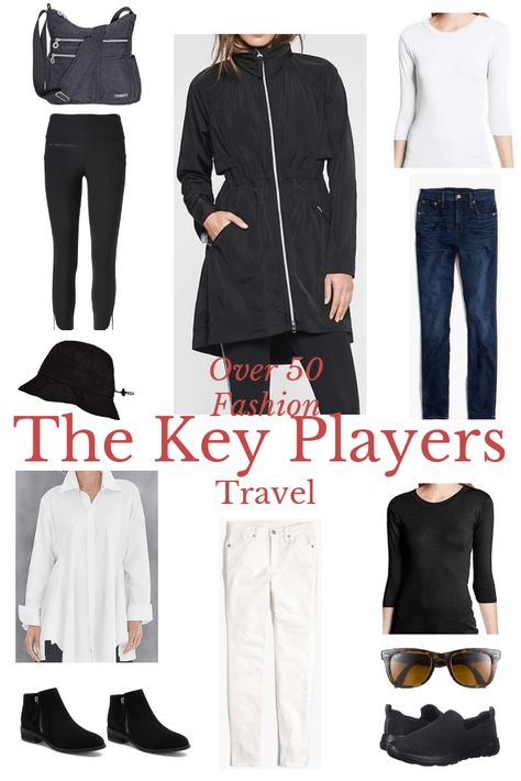 How to Rock an Over 50 Travel Wardrobe  #traveltips #traveloutfit #fashionover50 #over50fashion