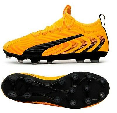 Details About Puma Men One 20 3 Hg Cleats Yellow Football Soccer Boot Casual Spike 10582701 In 2020 Football Shoes Soccer Boots Soccer Shoes