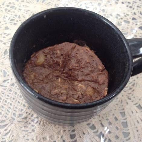 Resep Oatmeal Mug Cake Oleh Rani Mommymahira Resep Makanan Resep Oatmeal