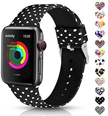 Amazon Com Sunnywoo Leopard Bands Compatible With Apple Watch
