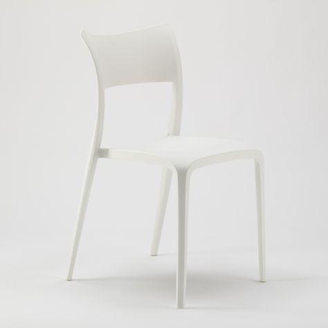 Sedie In Polipropilene Per Cucina Bar Ristorante E Giardino