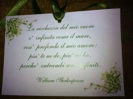 Frasi Amore Per Matrimonio.Segnaposto Frase D Amore Segnaposto Citazioni Matrimonio